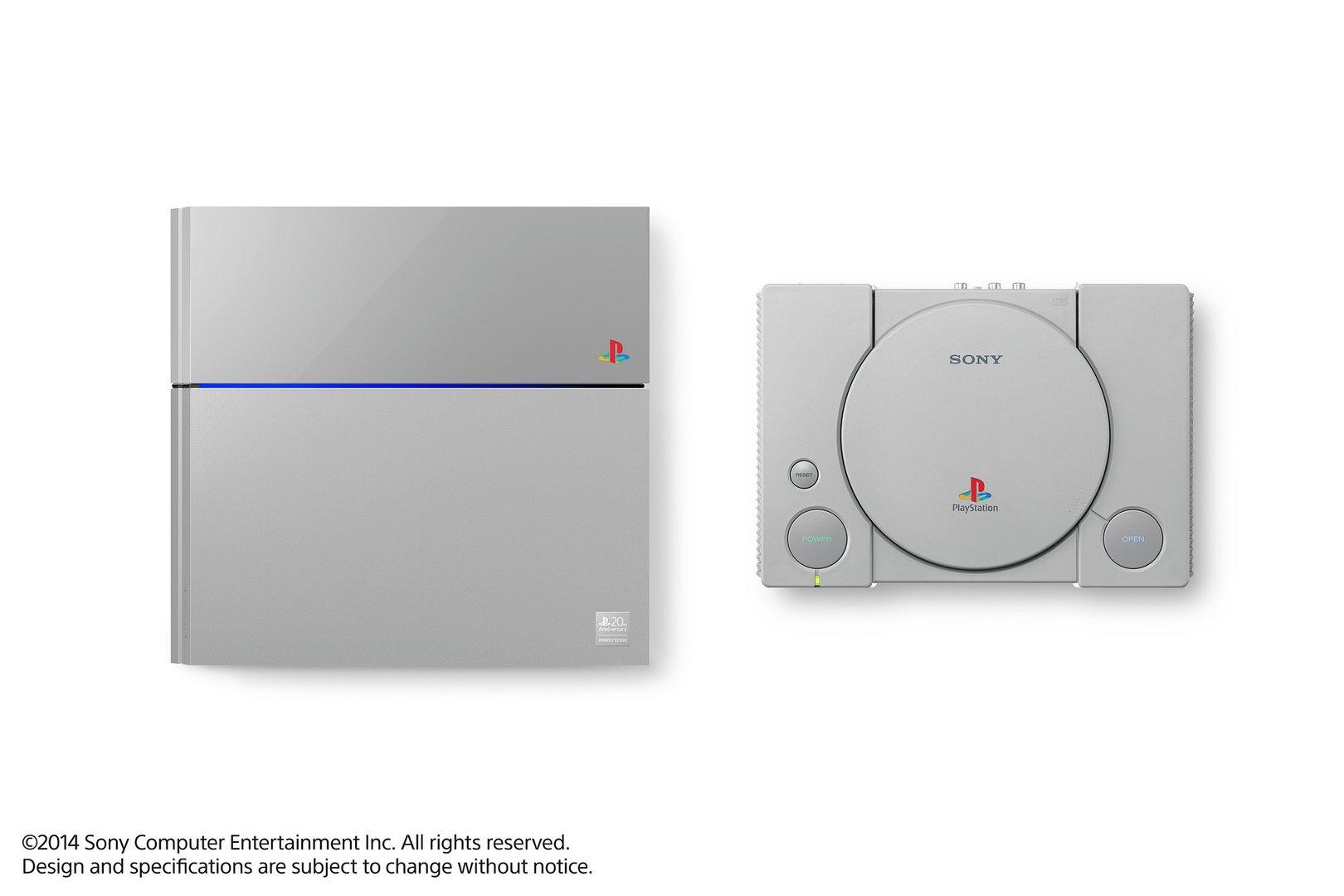PlayStation 4 20th Anniversary Edition