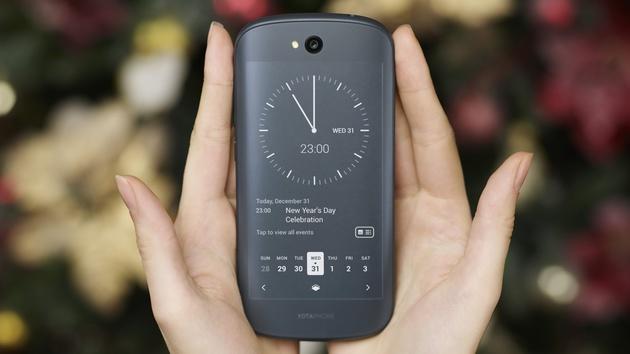 Yotaphone 2: Smartphone mit zwei Touch-Displays aus AMOLED und E-Ink