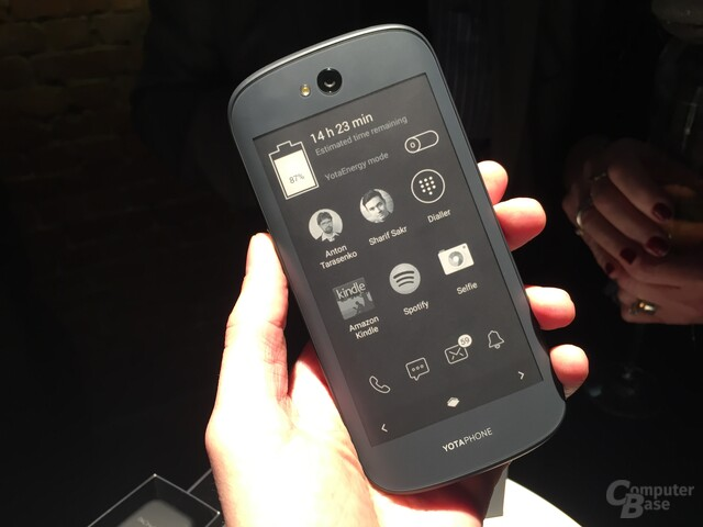 YotaPhone 2 ausprobiert – E-Ink-Display