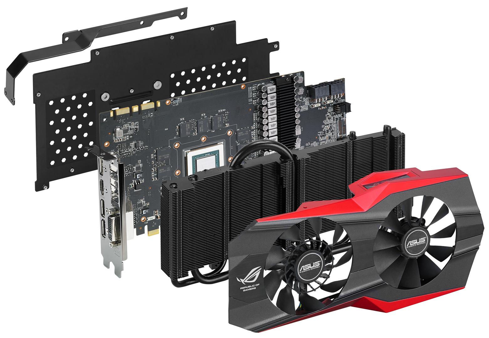 Asus GeForce GTX 980 Matrix – auseinander gebaut