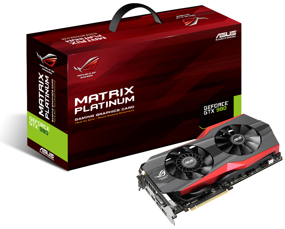 Asus GeForce GTX 980 Matrix – vor Karton