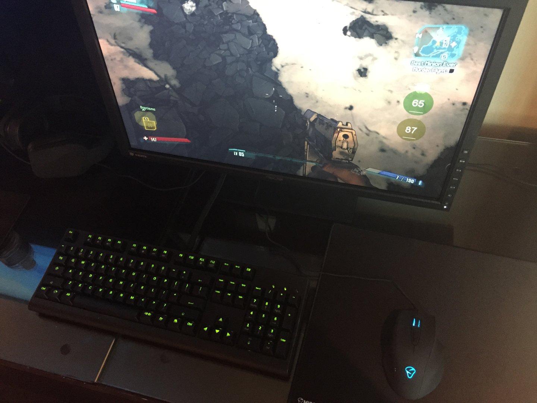Mionix Naos QG im Spieleinsatz