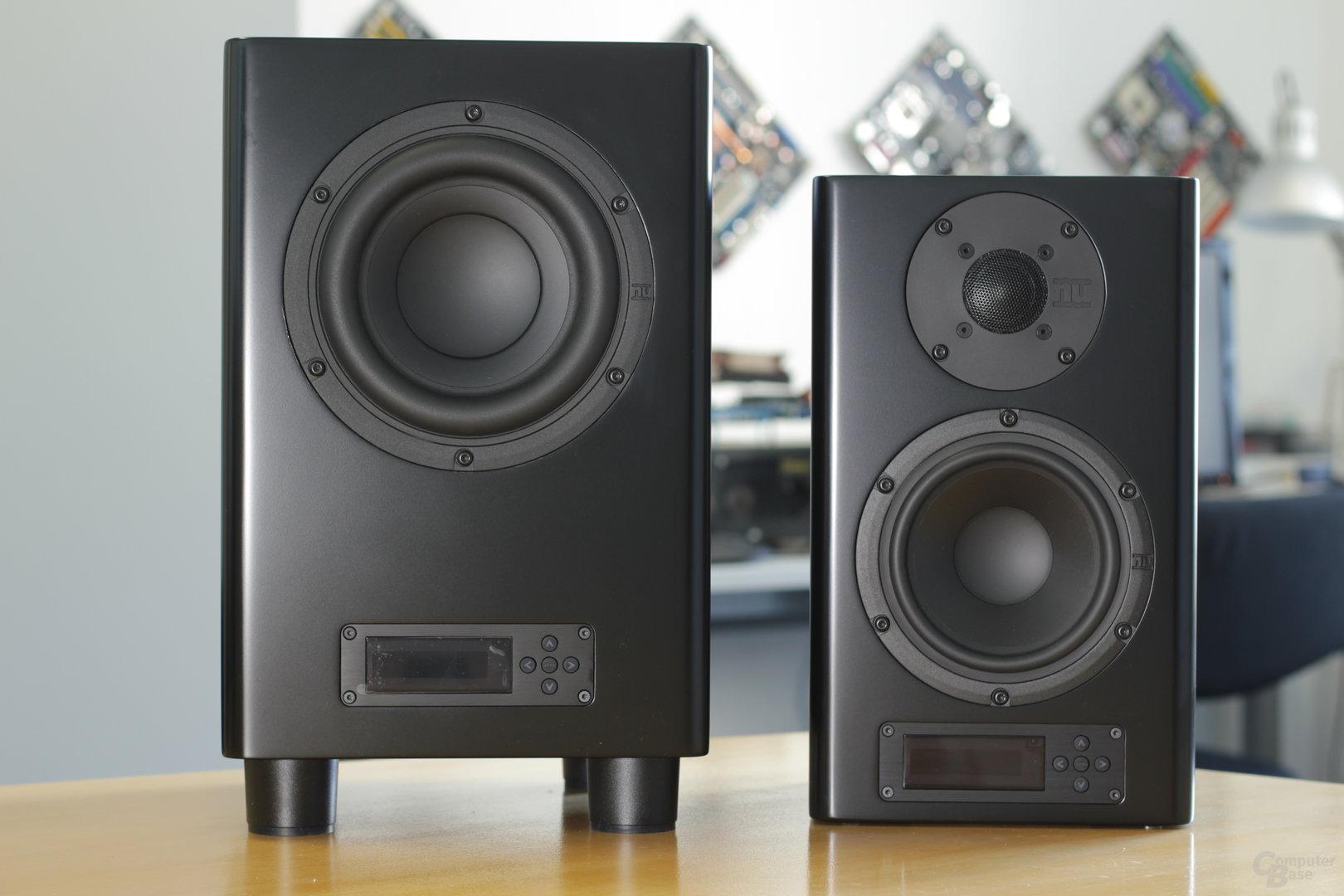 Nubert NuPro A-200 und AW-350