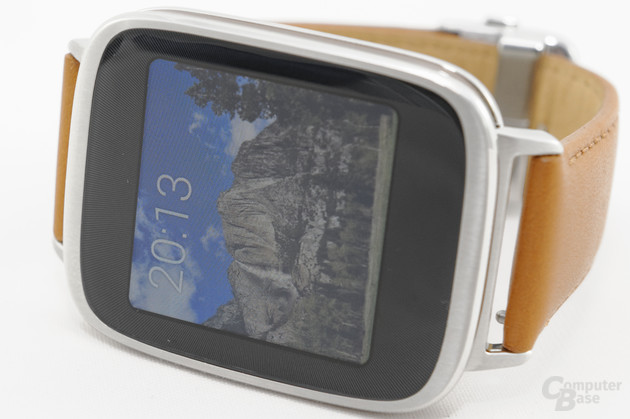 Asus ZenWatch – Display im Detail