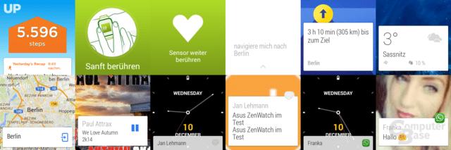 Asus ZenWatch – Funktionen
