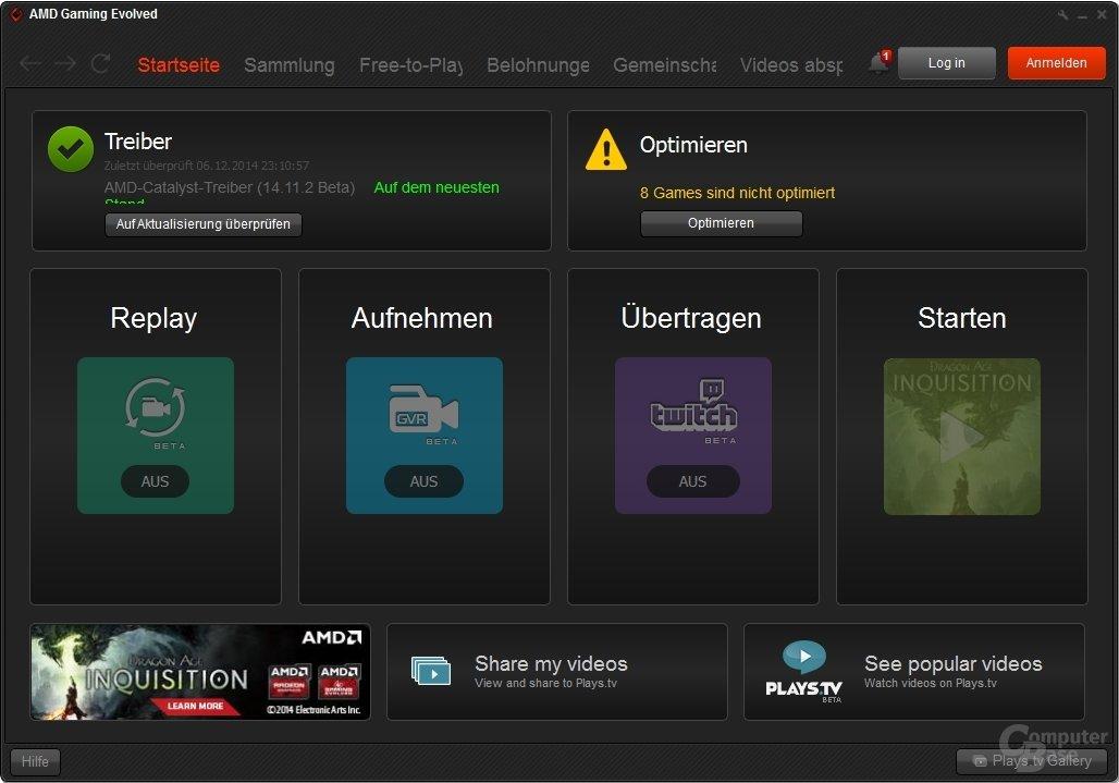 AMD Gaming Evolved – Startseite