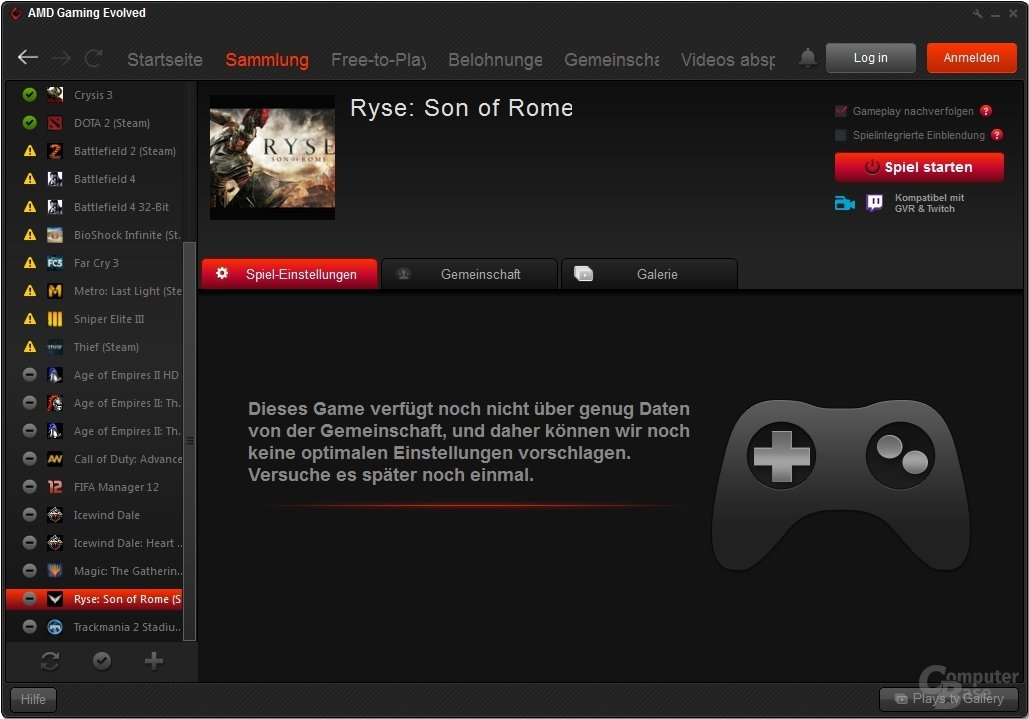 Gaming Evolved – Ryse: Son of Rome