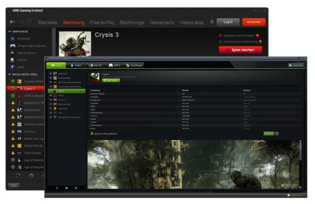 Spieleoptimierung mit Gaming Evolved und GeForce Experience im Vergleich