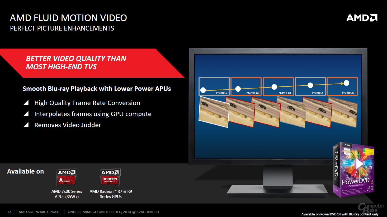 AMD Catalyst Omega – Video-Verbesserungen