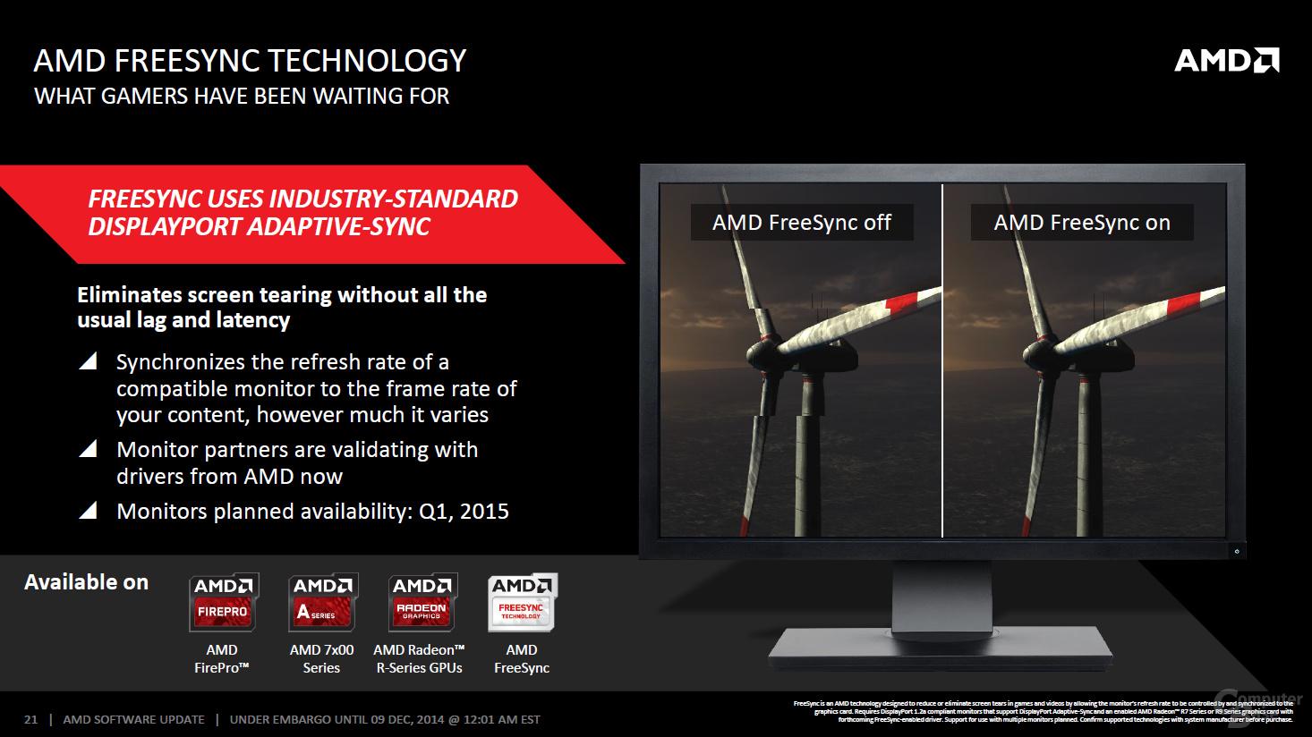 AMD Catalyst Omega – FreeSync