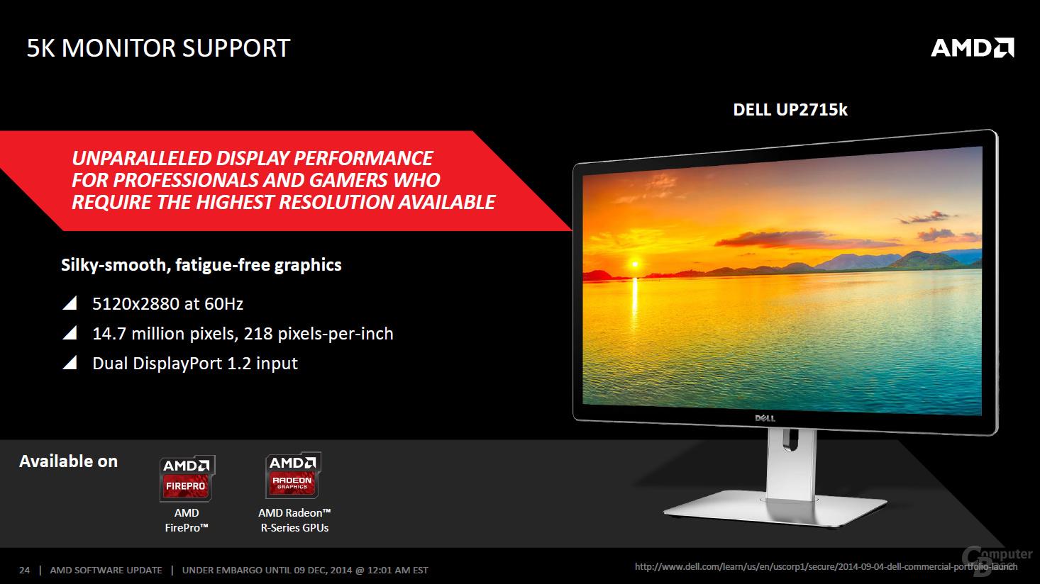 AMD Catalyst Omega – 5K-Monitor