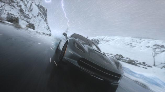 Dynamisches Wetter: Patch 1.08 für Driveclub lässt es blitzen und donnern