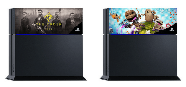 Faceplates mit The Order 1886 und Little Big Planet 3