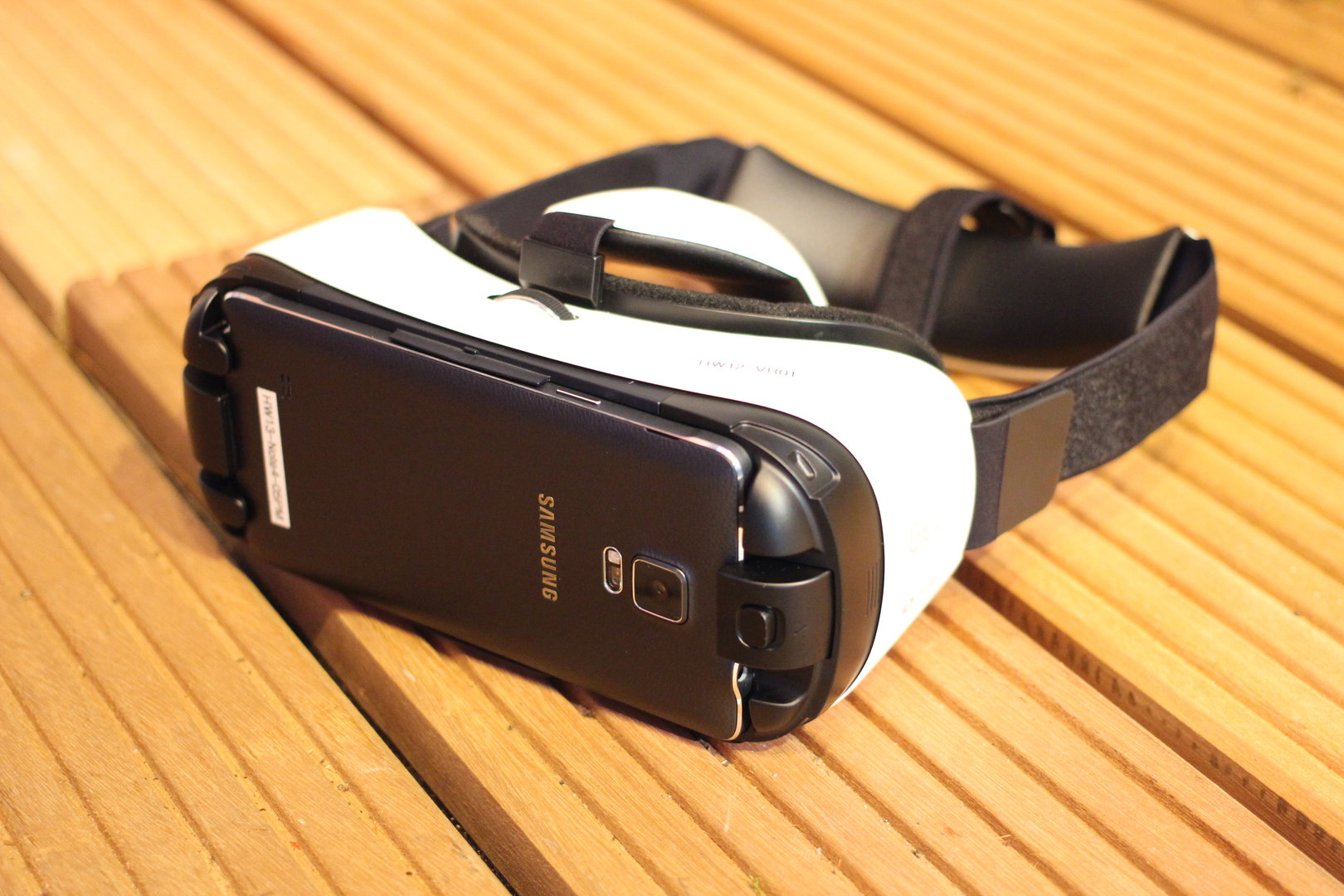 Die Galaxy Gear VR mit installiertem Galaxy Note 4