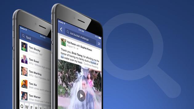 Facebook: Suche findet erstmals Beiträge nach Schlagworten