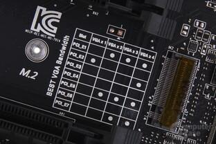PCIe-x16-Belegung bei MSIs Topmodell
