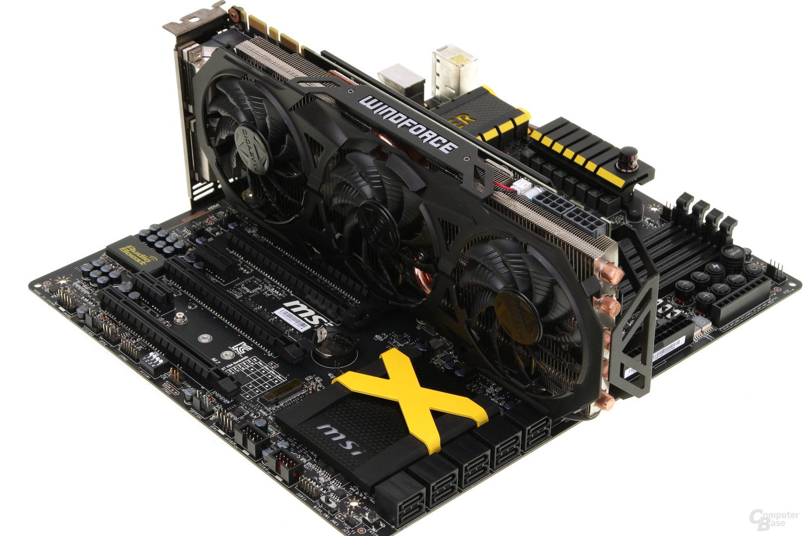 MSI Z97 XPower AC mit GTX 980