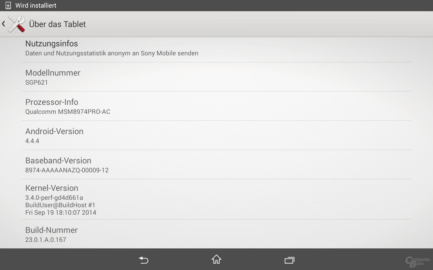Android-Übersicht