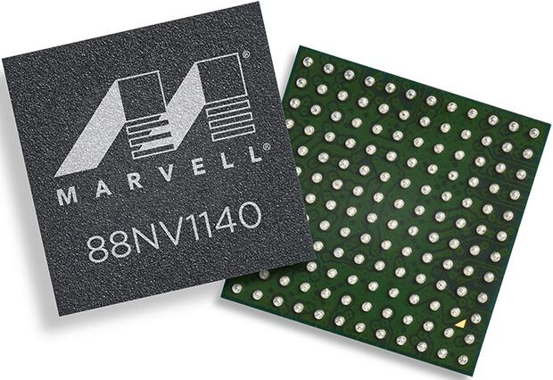 Marvell 88NV1140 mit NVMe