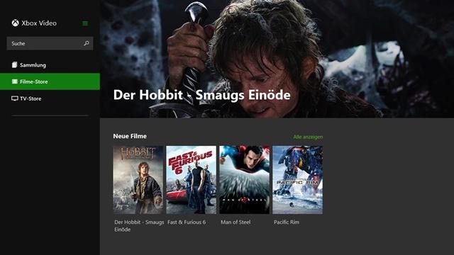 Xbox Video für Windows 8.1