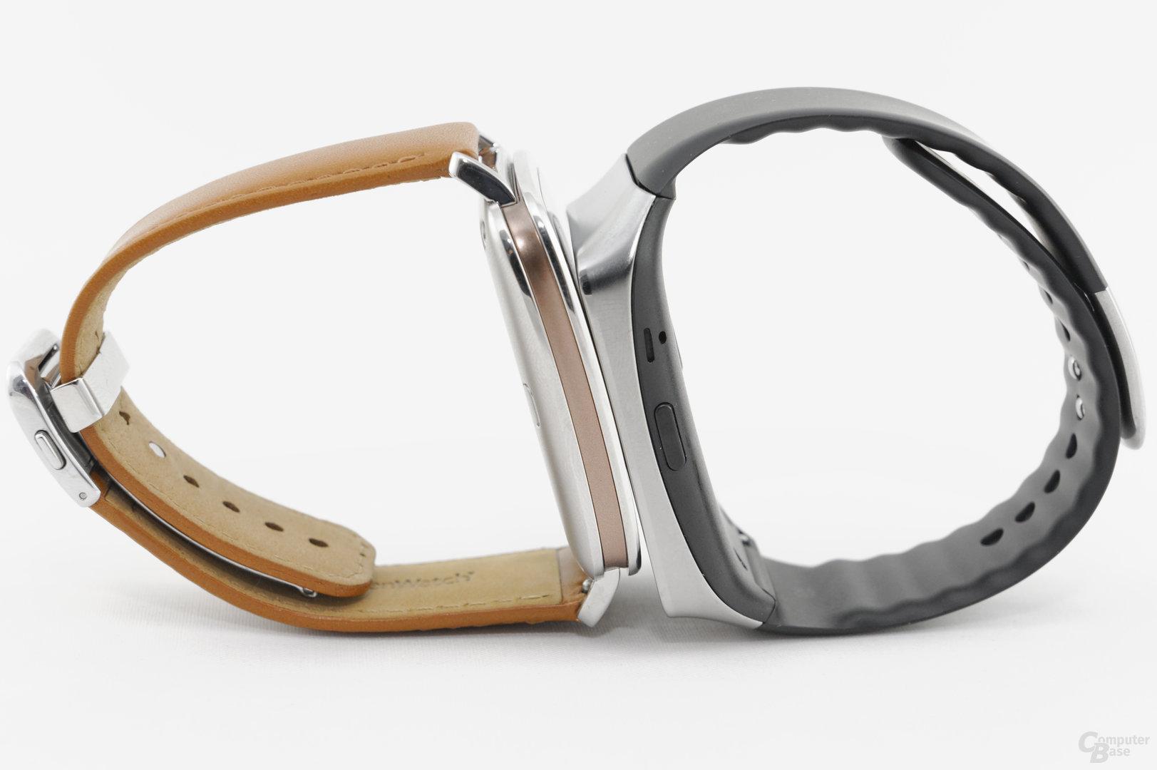 Asus ZenWatch – Samsung Gear Live