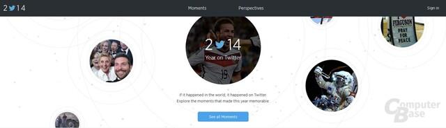 Twitter Jahresrückblick 2014