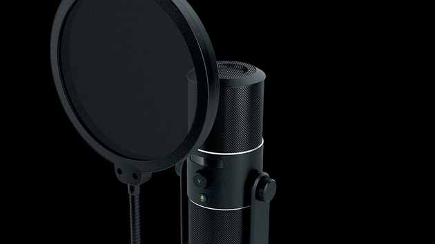 Razers Seiren: Tischmikrofon für den professionellen Let's-Player