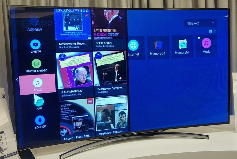 Samsungs Tizen-TV