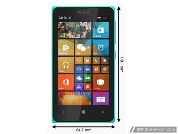 So soll das Lumia 435 aussehen