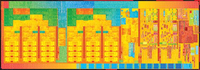 Broadwell-Die 2+3: 2 Kerne, max. 48 EUs