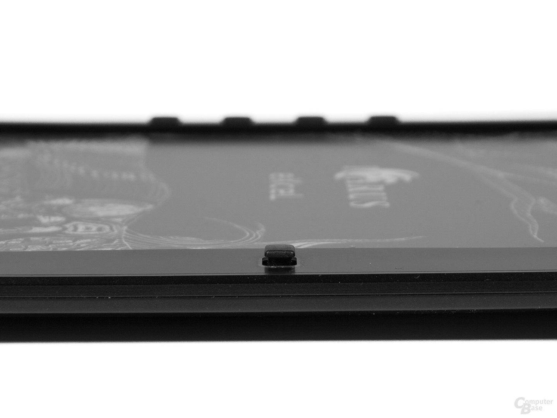 Icarus Excel 2014 – der Joystick ermöglicht ein einfaches Navigieren