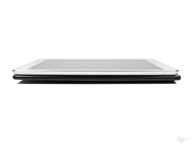 Größenvergleich Icarus Excel 2014 vs. Apple iPad Air