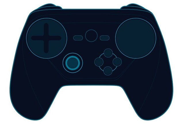 Steam Controller mit D-Pad