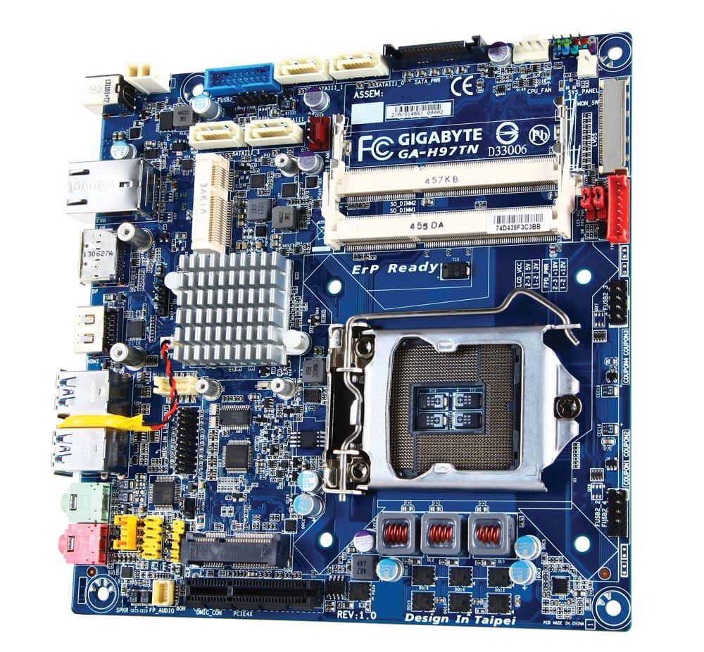 Gigabyte GA-H97TN – Thin-Mini-ITX-Mainboard mit H97