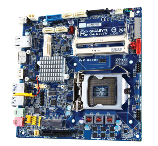 Gigabyte GA-H97TN – Thin-Mini-ITX-Mainboard mit H97