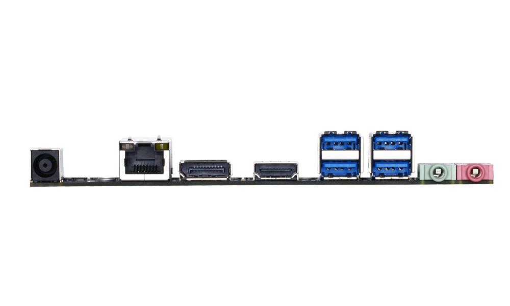 Gigabyte GA-H97TN – das I/O-Panel