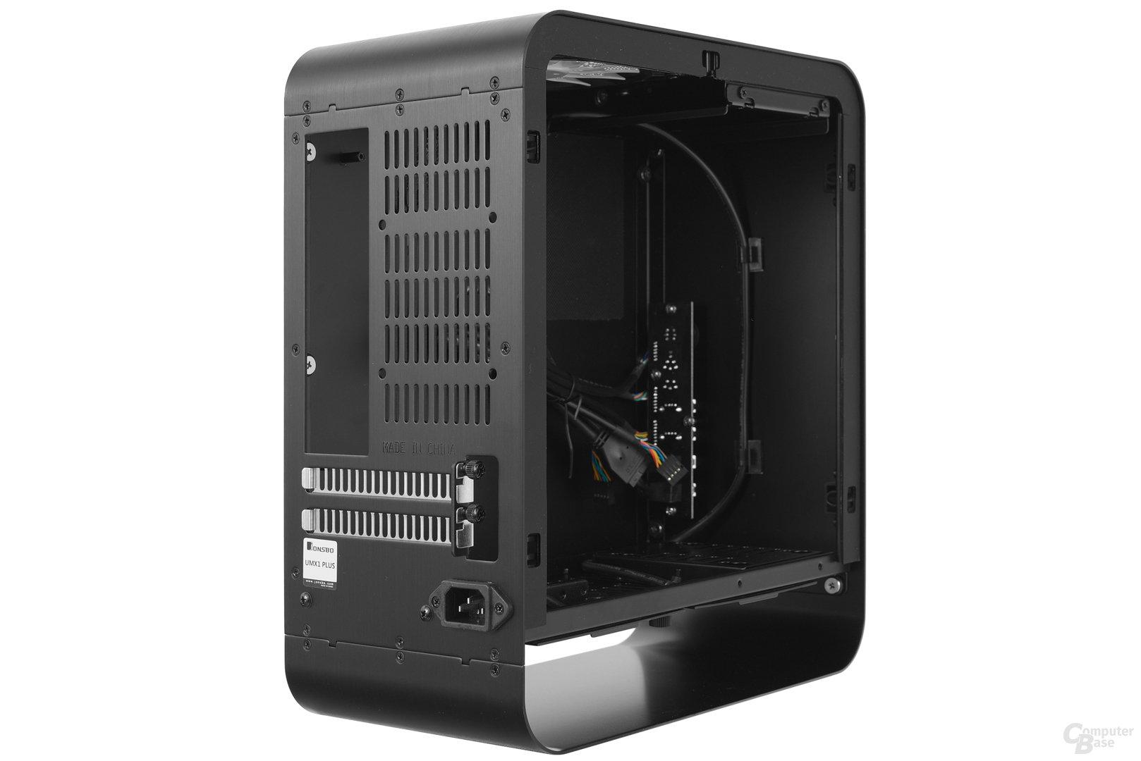 Cooltek UMX1 Plus – Seitliche Innenraumansicht