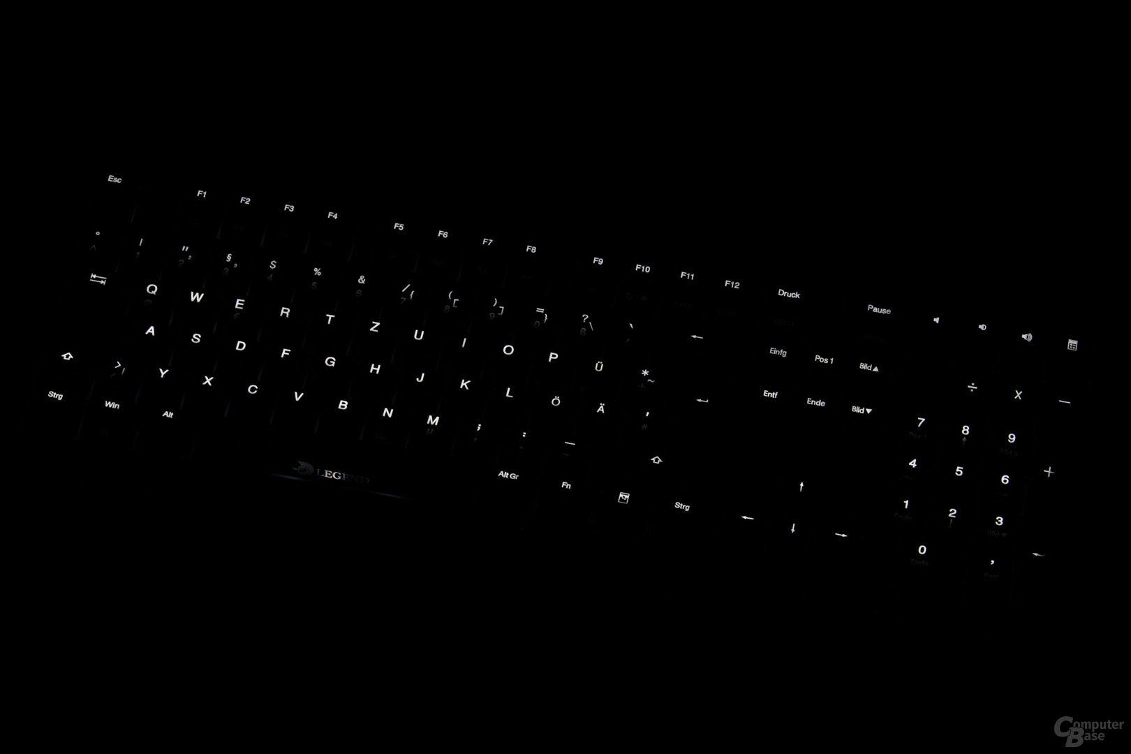Zwei individuell konfigurierbare LED-Profile laden zum Spielen ein