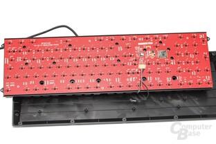 Sauber verarbeitetes PCB