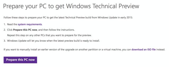 Windows-8-Nutzer erhalten Windows 10 auf Wunsch über Windows Update
