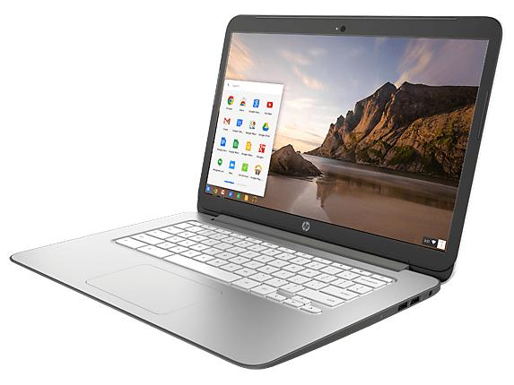 HP Chromebook 14 Touch – von rechts