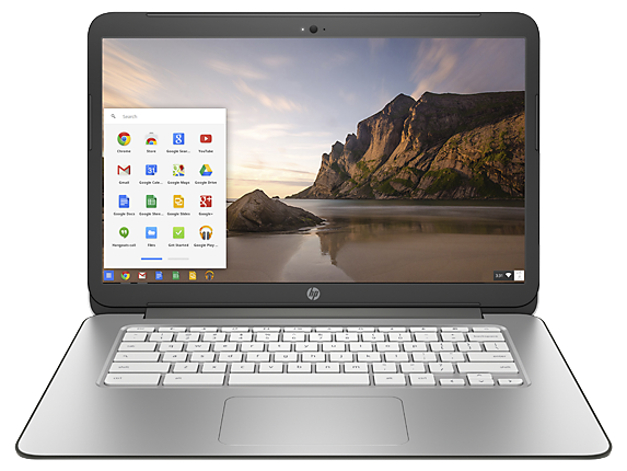 HP Chromebook 14 Touch – Frontalansicht