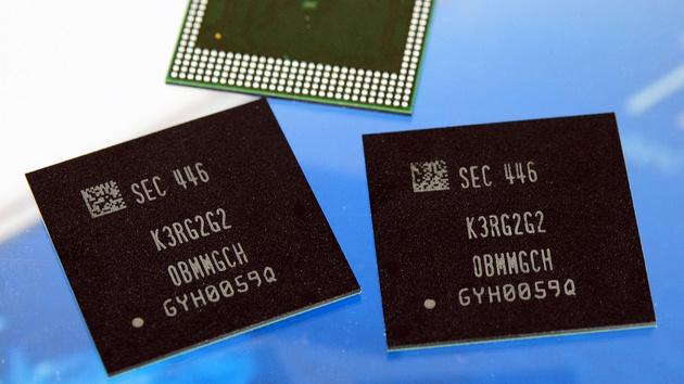 LPDDR4 von Samsung: 8-Gbit-Chips bringen 4 GB RAM ins Smartphone