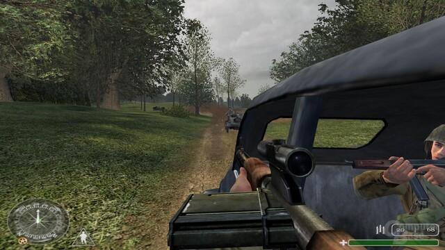 """Klassisch: """"riding Shotgun"""""""