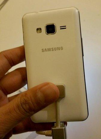 Samsung Tizen Z1 – die Rückseite