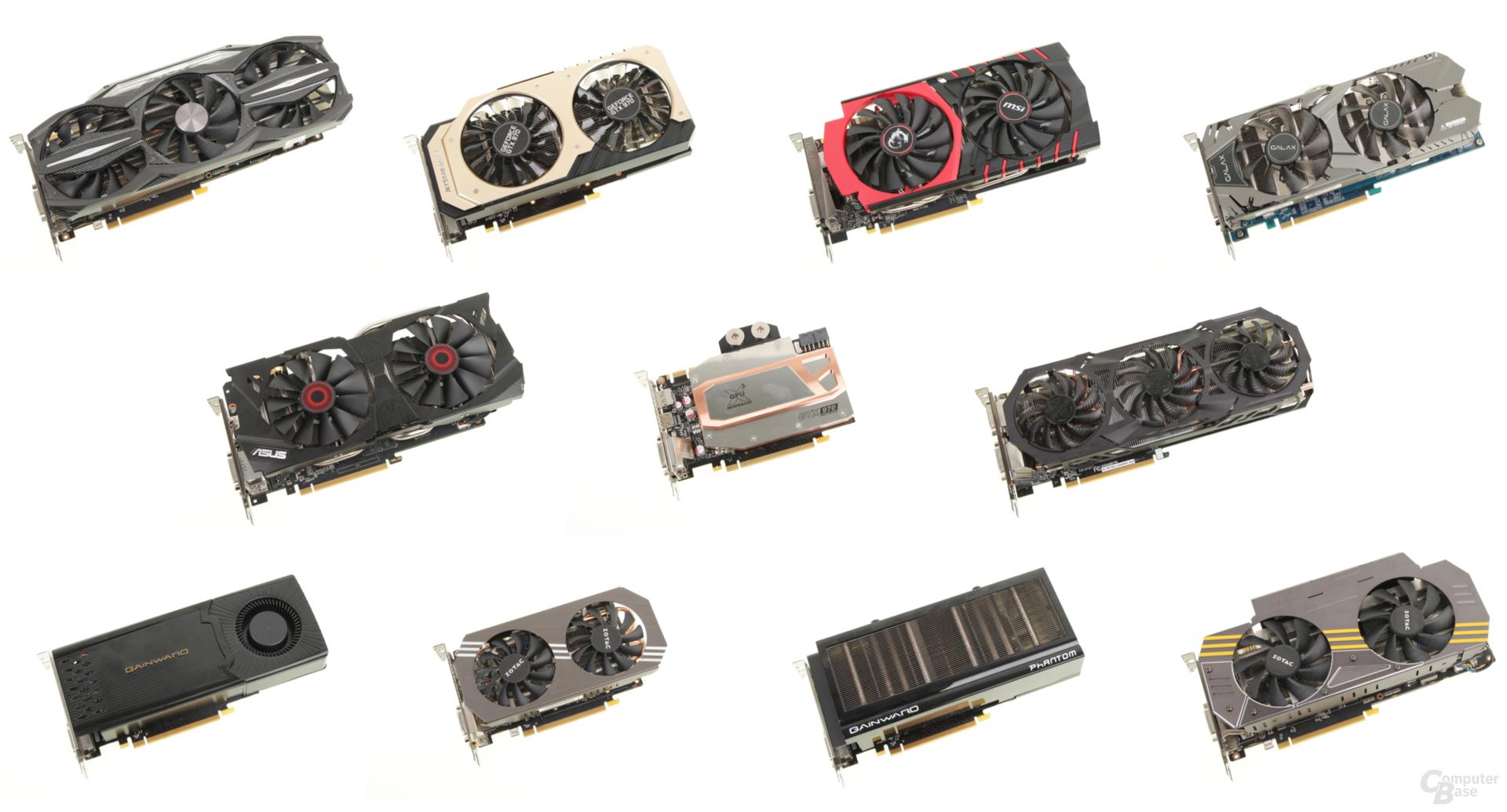 Der Test des Jahres: Elf GeForce GTX 970 im Vergleich