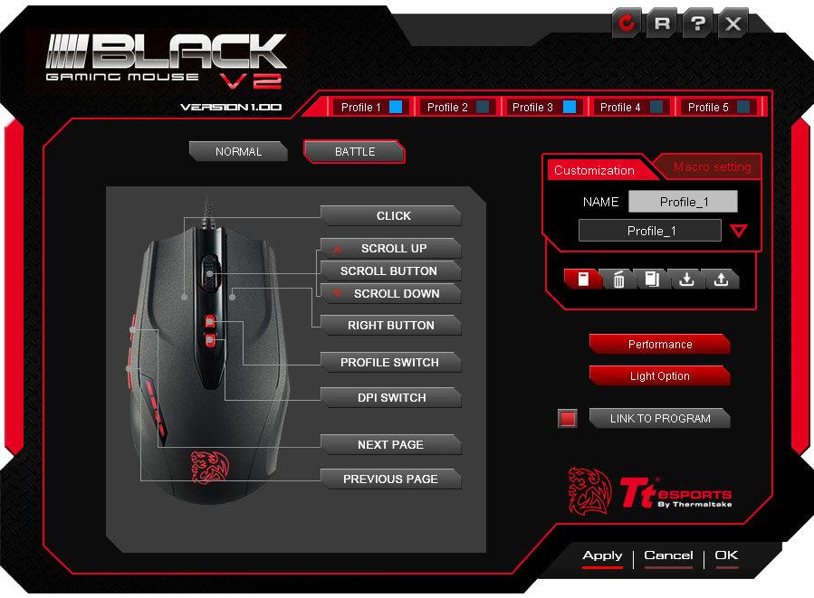 Tt eSports Black V2