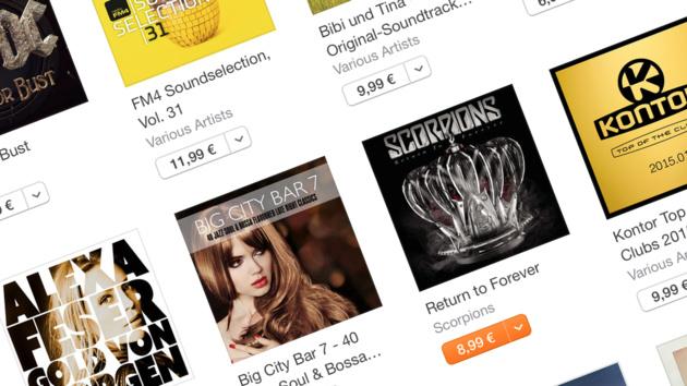Widerrufsbelehrung: Apple mit 14-Tage-Rückgaberecht bei iTunes