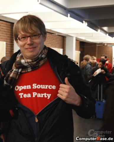 Lennart Poetterings Open Source Tea Party