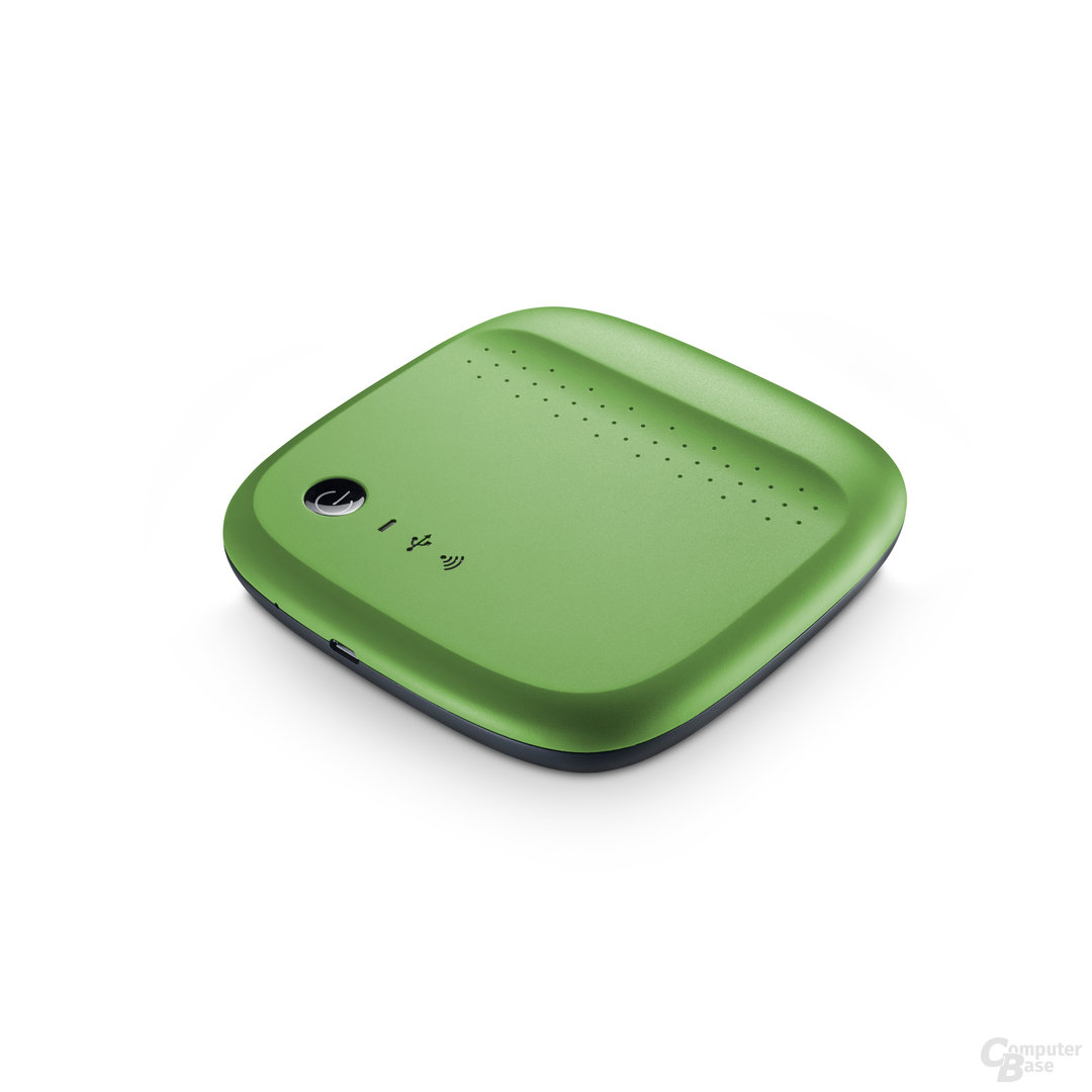 Seagate Wireless Grün